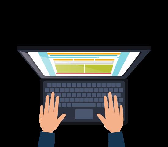 Laptop graohic