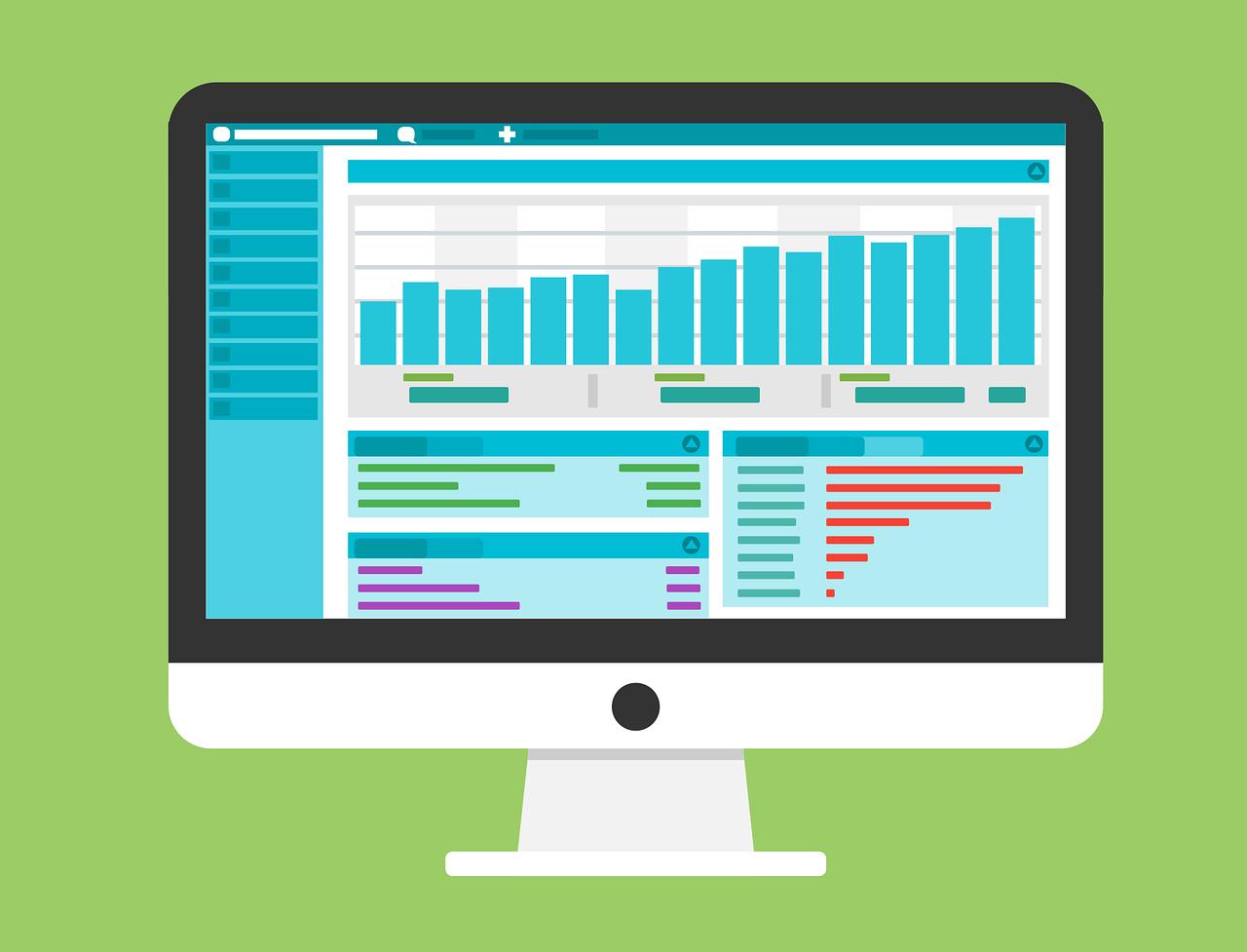 Computer Analytics graphic